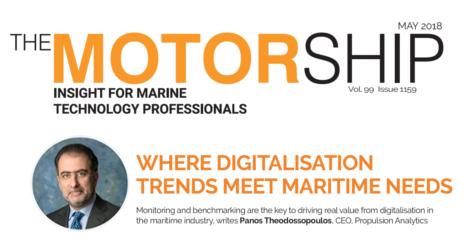 """""""Where digitalisation trends meet maritime needs"""""""