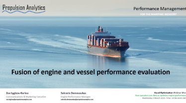 "Propulsion Analytics participates in ""Vessel Optimisation Webinar Week"""